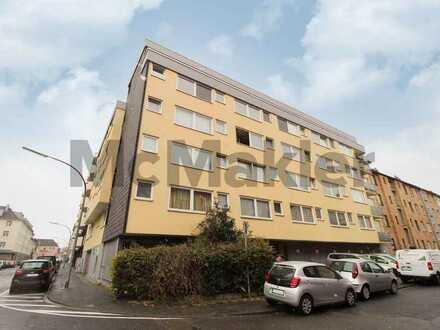 Urban gelegen und gepflegt: 1-Zimmer-Apartment mit Stellplatz in Nippes