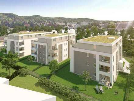 Schillertrio Bensheim-Auerbach im KfW 55 Standard: 3 ZKB mit Blick ins Grüne!