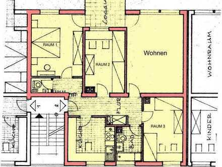 Schöne 4-Raum-Wohnung mit EBK und Balkon in Schopfheim