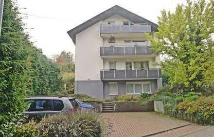 2964 - Dachgeschosswohnung mit großer Loggia in Hohenwettersbach!