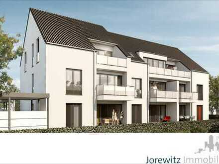 Nähe Gütersloh-Zentrum: Top moderne 3 Zimmer-Neubauwohnung mit schönem Balkon
