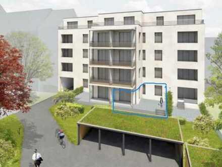 Erstbezug: ruhige attraktive 2-Zimmer-EG-Wohnung mit Terasse und Garten im Zentrum Leipzig