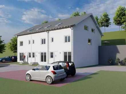 Erstbezug: 5-Zi-Reihenmittelhaus, 163 m² einschl. ELW, Garten, gehobener Ausst. KfW55