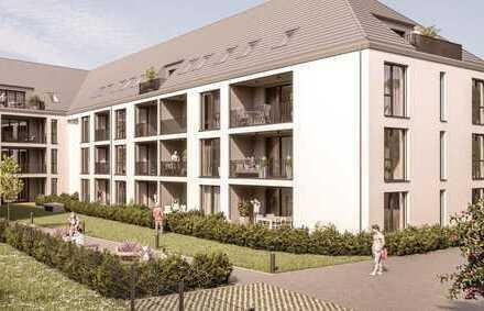 ERSTBEZUG: moderne 2-Zimmer-Wohnung mit Einbauküche und Logia