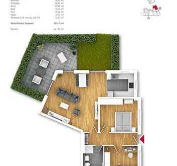 Meine Wohnung, meine Terrasse, mein Garten