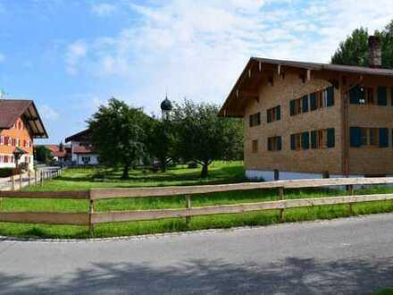Saniertes Bauernhaus; gestricktes Vollholz Bauernhaus, Oberstdorf