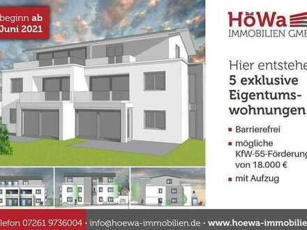 Neubau von 5 ETWs in Sinsheim-Gartenstadt