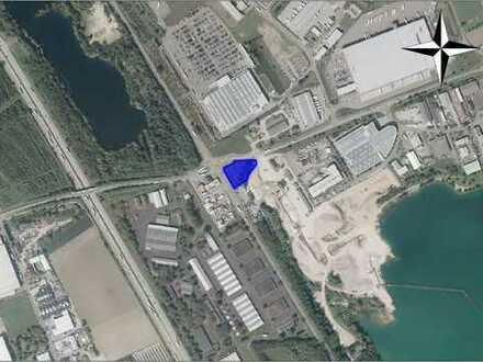 Gewerbebauplatz mit optimaler Verkehrslage an der B3 und A5