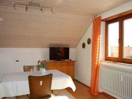 möblierte 1-Zimmerwohnung mit Internet, TV, Dusche/WC, Esszimmer mit Kochmöglichkeit