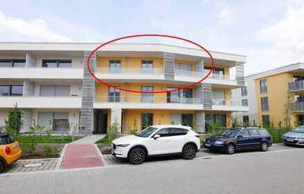Erstbezug: Helle 3-Zimmer-Wohnung mit breitem Südbalkon, extra Duschbad – und eigenem Solarmodu