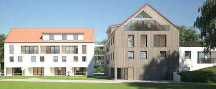1 Zimmer Eigentumswohnung im 2.OG mit Süd-Balkon, Baubeg. 1. Q 2020, Haus A Wo 2.10
