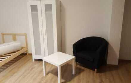 1 Zimmer Souterrain Wohnung voll möbliert mit Parkplatz Budenheim