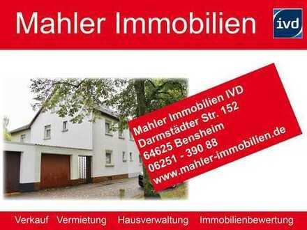 Modernisierungsbedürftige Doppelhaushälfte mit Garage in der Darmstädter Heimstättensiedlung