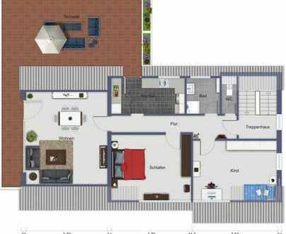 880.0 € - 93.0 m² - 3.5 Zi.