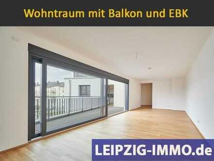 Erstbezug im hochwertigen Neubau *** Wohnen an der Weißen Elster * Balkon * EBK * 2 Bäder