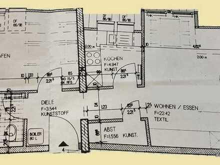 Zentrumsnahe, gemütliche Dachgeschosswohnung mit Wanne zu vermieten!