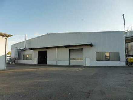 Produktionshalle mit Büro- und Werkstattgebäude in Autobahnnähe