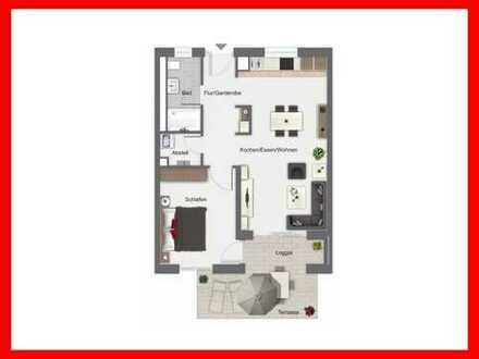 2-Zimmer-Etagenwohnung