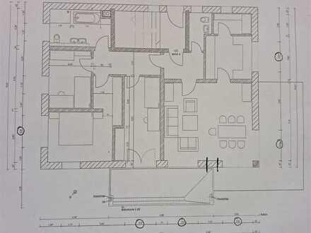 Erstbezug mit Balkon und Terasse: stilvolle 4-Zimmer-Wohnung in Sulzberg