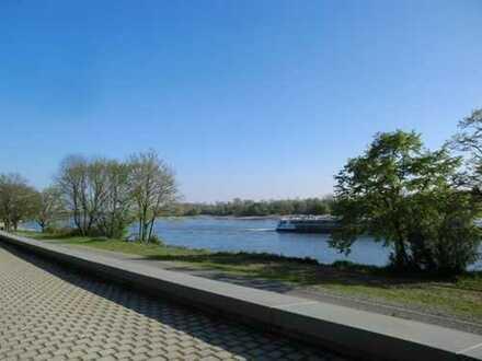 Exklusives Baugrundstück in erster Rheinnähe in Düsseldorf-Wittlaer