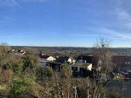 *** Sonniges, großzügiges Baugrundstück in traumhaft schöner Südhang-/Aussichtslage am Dachswald ***