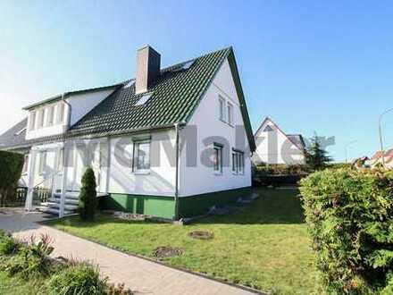 Gepflegtes Doppelhaus mit 1-4 WE an der Ostsee - Viel Platz zum Wohnen o. Vermieten in Stralsund