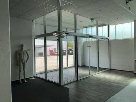 Verkaufsraum mit Halle und Büro für Großhandel im Hamburger Westen