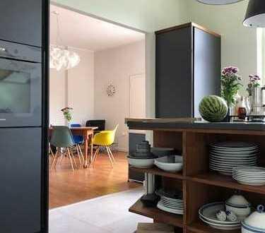 traumhafte Wohnung im Saarlandstraßenviertel -nähe Kreuzviertel- mit neuer Einbauküche