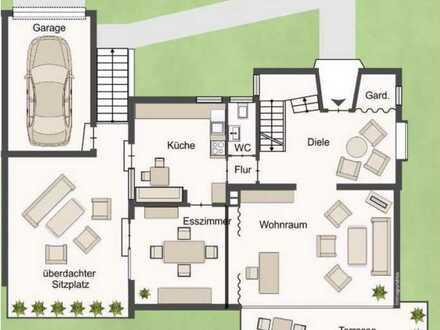 Gepflegtes Einfamilienhaus mit fünf Zimmern und EBK in Ludwigsburg, Ludwigsburg