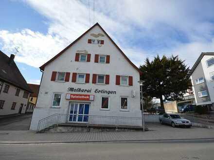 Büro / Einzelhandel / Studios / Praxis in zentral in Ertingen zu Vermieten