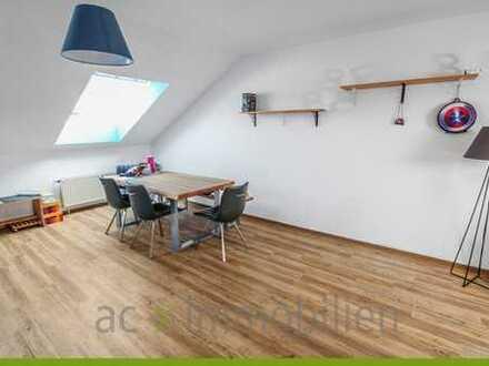 ac | helle Dachgeschosswohnung im 4. OG ohne Fahrstuhl in Speyer-Süd