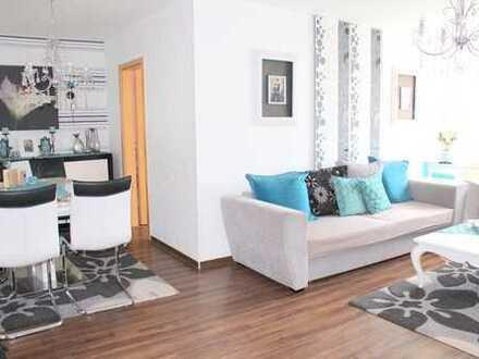Großzügig geschnittene 4-Zimmer-Dachgeschosswohnung mit Garage und Gartenmitbenutzung