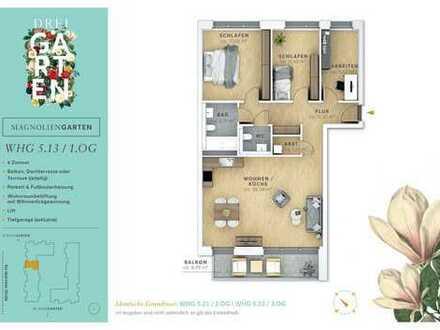 4 Neubau-Wohnung mit Badewanne und Einbauküche in den SteimkerGärten.