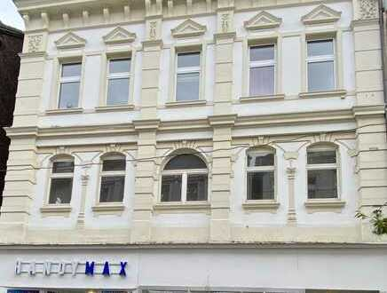 Wohn- und Geschäftshaus in einer Einkaufsstraße von Gelsenkirchen-Mitte