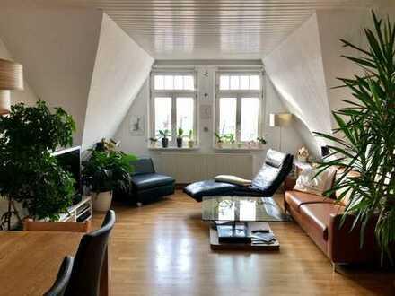 Attraktive 4-Zimmer-DG-Wohnung mit Terrasse in bester Wohnlage Ansbach