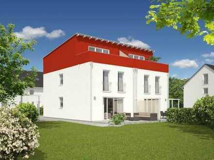 Neubau Doppelhaushälfte von Town&Country auf einem geförderten Erbbaugrundstück nach LWOFG Rhl.-Pf.