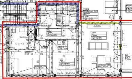 Attraktive Neubauwohnung, inkl. Keller u. Hauswirtsch.-Raum., Gäste-WC und Balkon