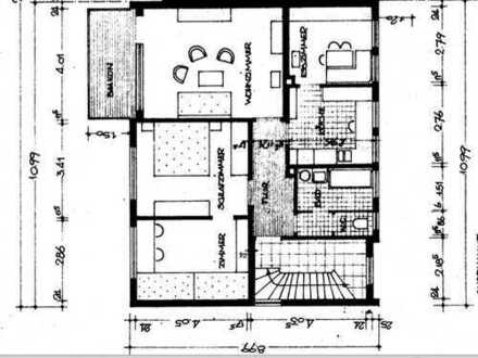 73207 Plochingen-Stumpenhof: 4-Zi-Wohnung / Wintergarten 1. Obergeschoss / ruhige Lage