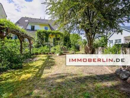 IMMOBERLIN.DE: Adrette Doppelhaushälfte mit Südgarten & Pkw-Stellplatz