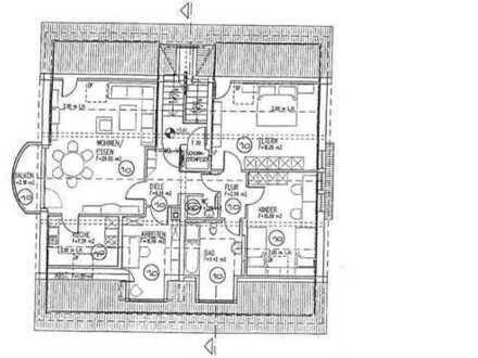 Schöne 4-Zimmer-Dachgeschoss-Wohnung in Florstadt / Nieder-Mockstadt