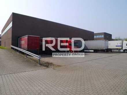 1.450 m² Lager - 1.200 m² Freifläche - 263 m² Büro-/Sozialflächen