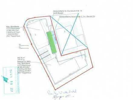 Kernstadt... Baugrundstück, genehmigte Bauvoranfrage liegt vor