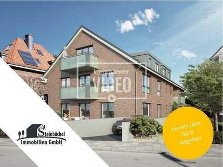 Traumhafte 3-Zimmer-Wohnung mit Garten in West-Ausrichtung in gefragter Lage, Neubau-Erstbezug!!!