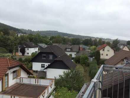 Gemütliche Dachgeschosswohnung über den Dächern von Burbach