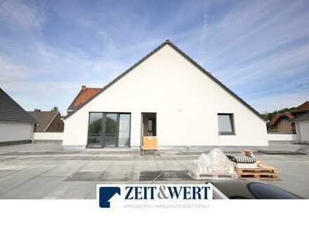 Neubau! Kerpen-Brüggen! Sonnenhelle 3-Zi-Mietwohnung mit Dachterrasse und Garage! (LR3935)