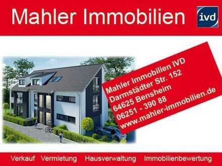 Neubau Komfort -Eigentumswohnungen mit Aufzug in gehobenem Wohngebiet von Bensheim-Auerbach