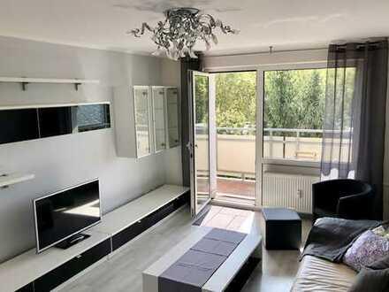 Möblierte 2-ZKB mit Aufzug & Balkon in Innenstadtnähe // Furnished Apartment near city center