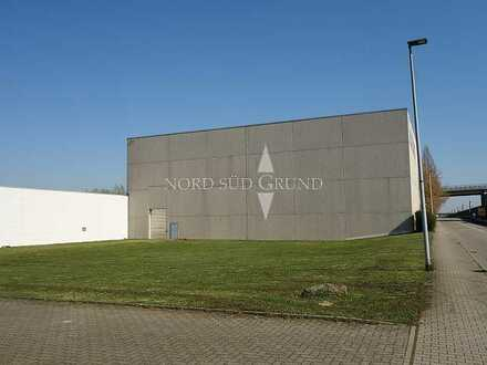Gewerbe-Immobilie für Produktion, Lager und Logistik. 18.500 m² Grundstück.
