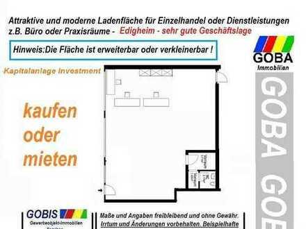 Lu Edigheim Laden-Büro-Praxisräume - Kapitalanlage 117 m² gute Verkehrslage + gute Verkaufslage