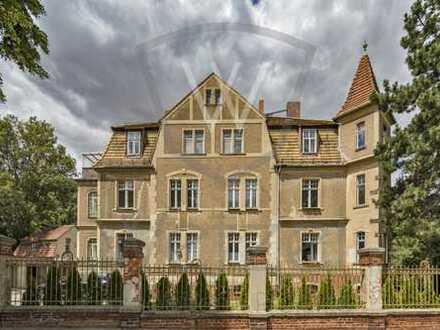 """RESERVIERT + Repräsentative Jugendstilvilla mit Remise am Stadtpark """"Glacis"""" - Einzeldenkmal"""